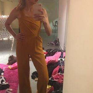 Top Shop - Mustard Romper